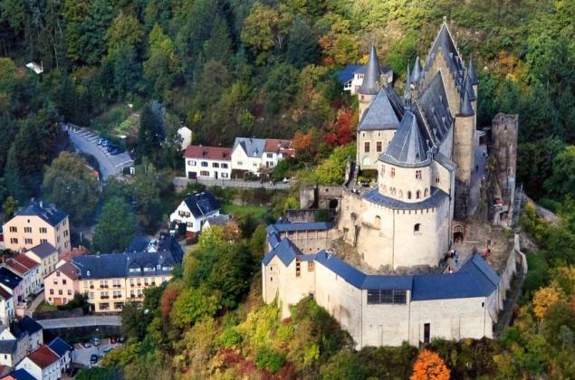 Vianden et de son château