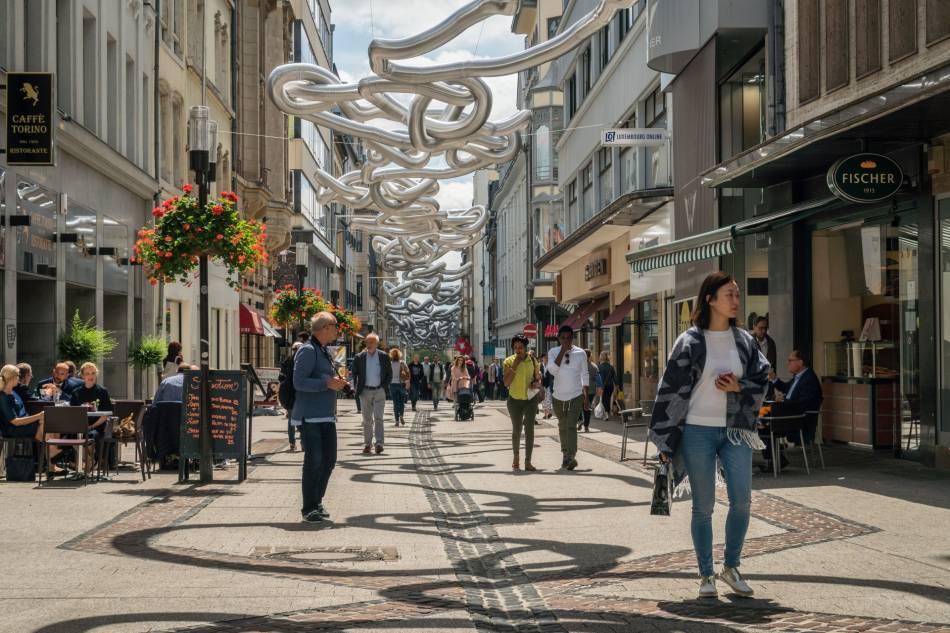 centre-ville de Luxembourg