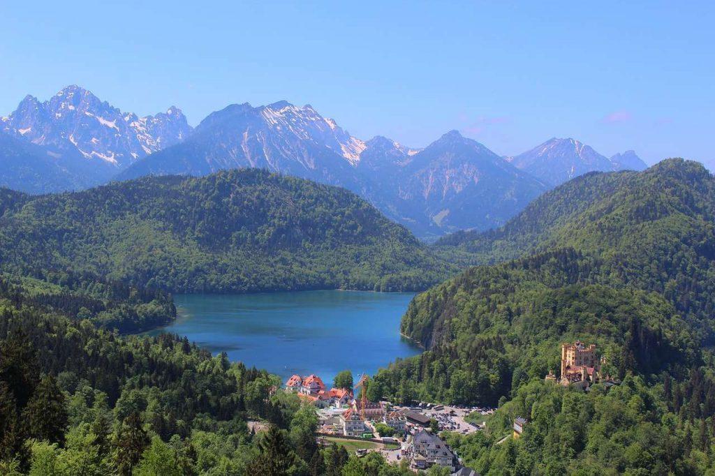 lacs de Bavière